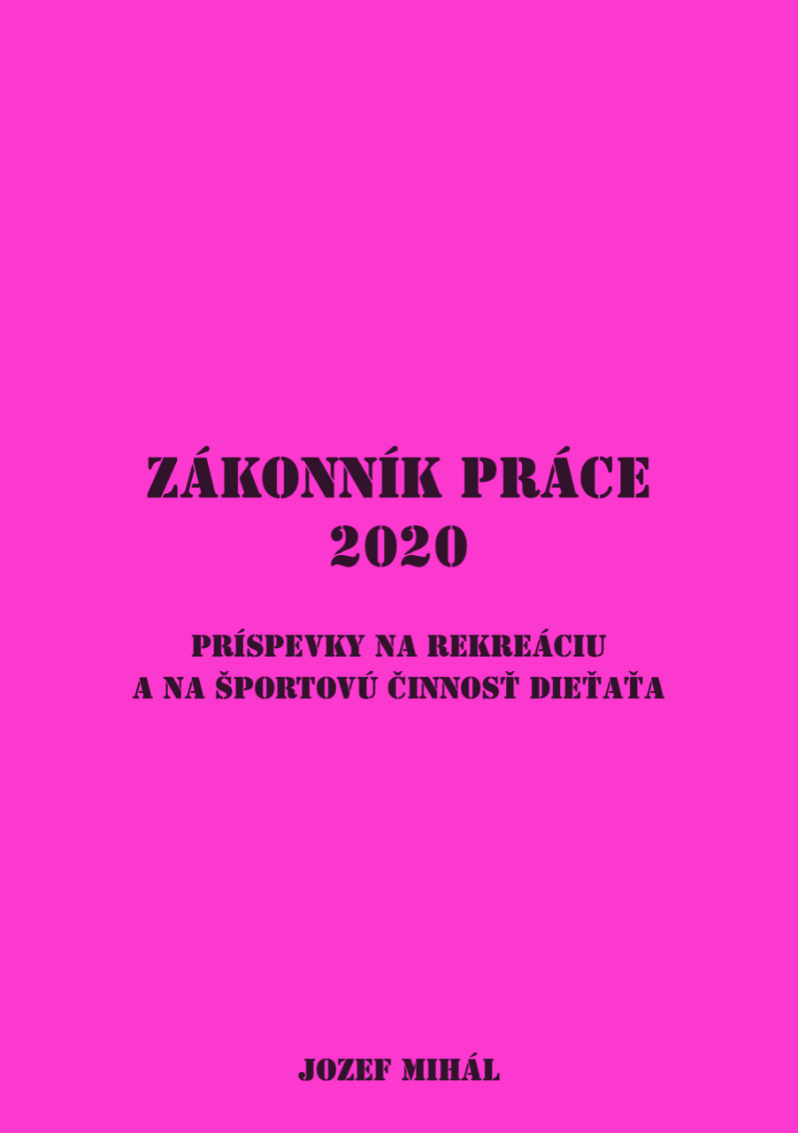 Zákonník práce 2020